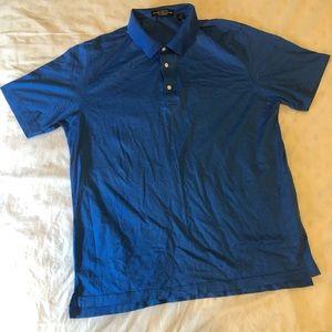 Carnoustie blue shirt size XL